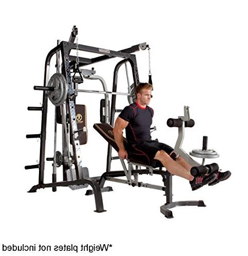 Marcy Machine Body Training Home Gym Linear Bearing MD-9010G