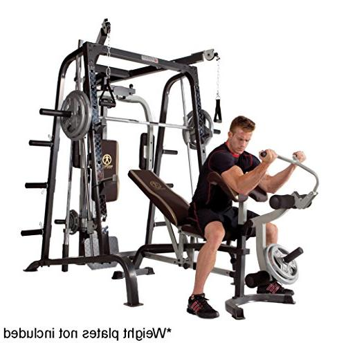 Marcy Machine Total Body Home Gym with Linear MD-9010G