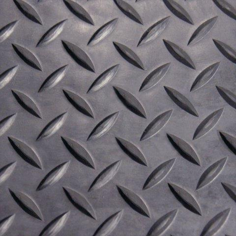 Rubber-Cal Rubber Flooring 1/8-Inch 4 x