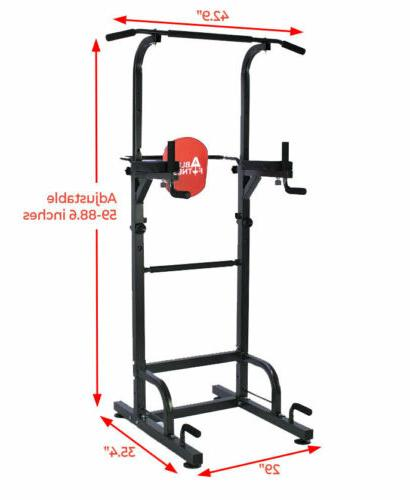 dip station chin up bar power tower