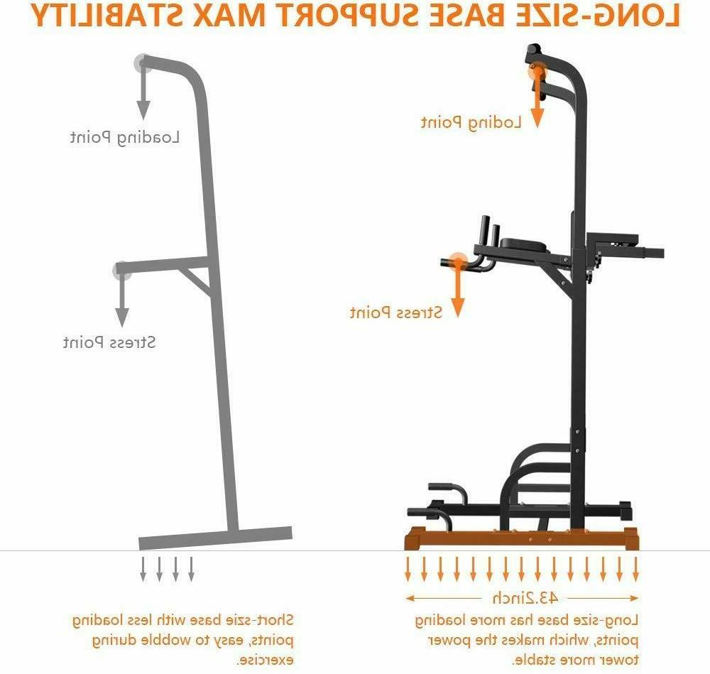 Sportsroyal Pull Bar Power Adjustable Height fr Fitness