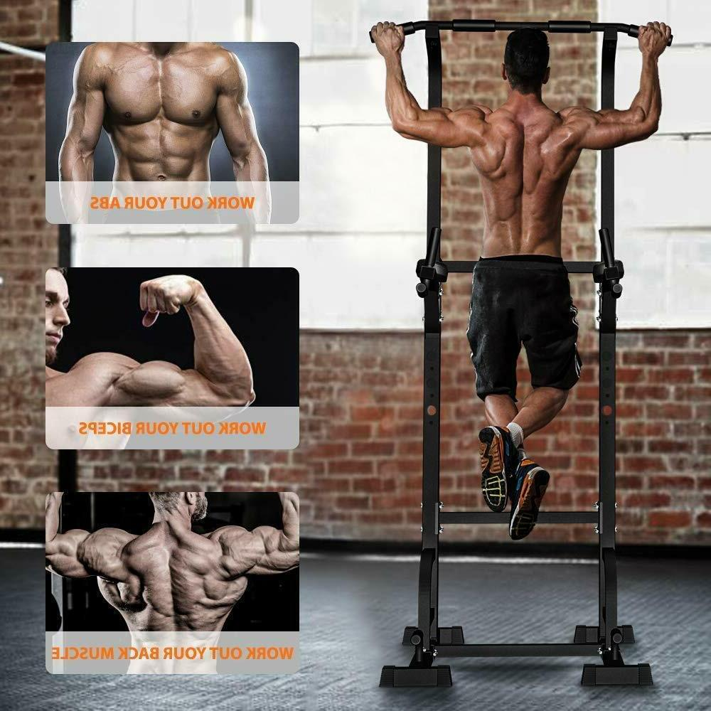 dip station power tower pull up bar