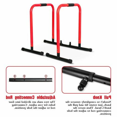 Dip Station Stand Duty Parallel Pull Up Training Exercise