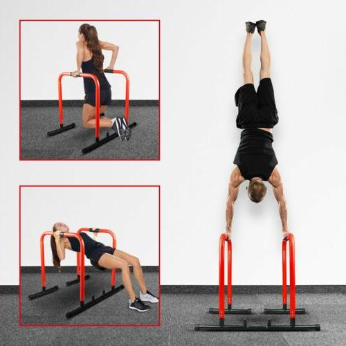 dip station stand heavy duty parallel bar