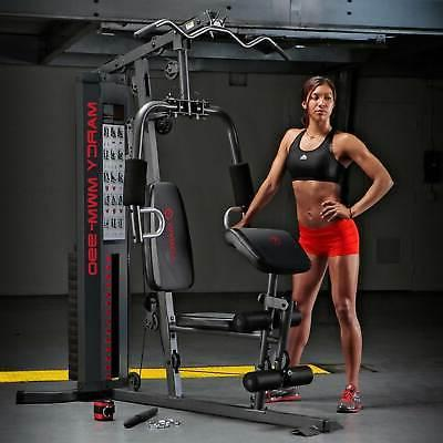 Marcy Dual-Functioning Upper Lower Home Gym Workout