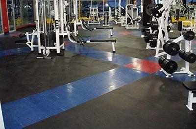 IncStores 4 x 6 Premium Durable Mat Home Flooring Blac