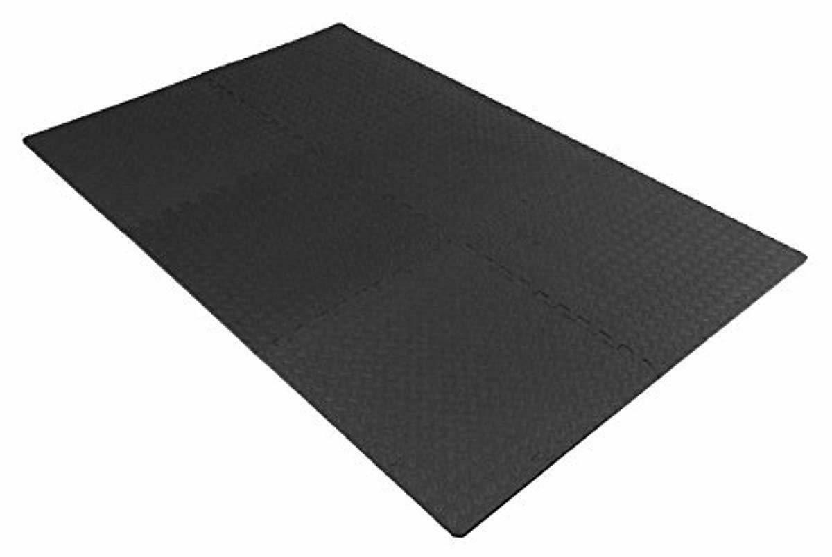Exercise Rubber Tiles Garage Home Workout