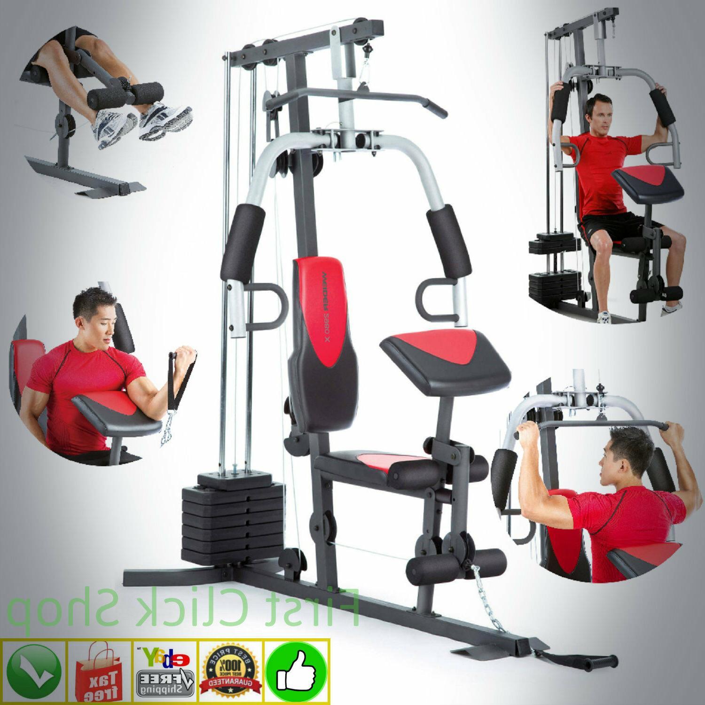 fitness system machine home gym 214 lbs