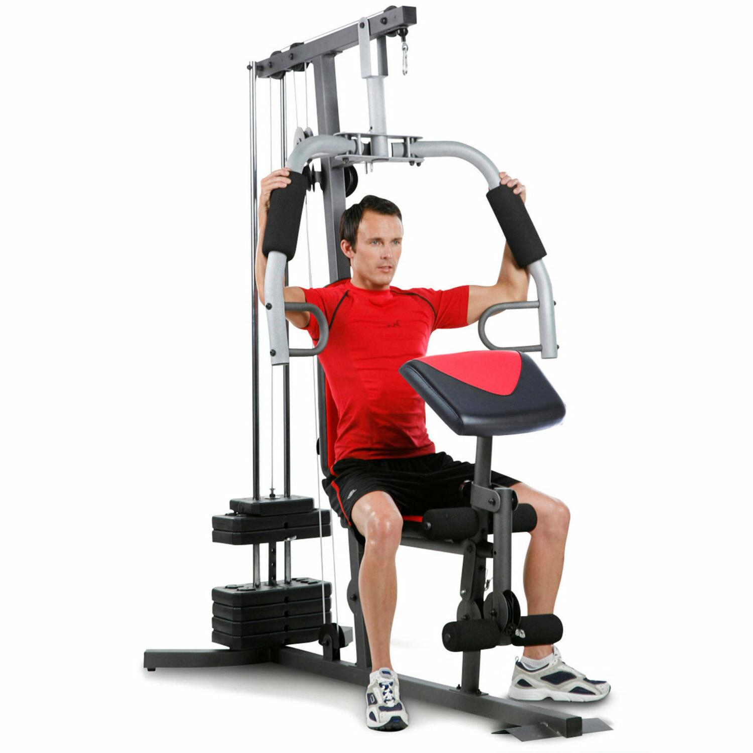 Fitness System Gym Lbs Resistance Stack 2980