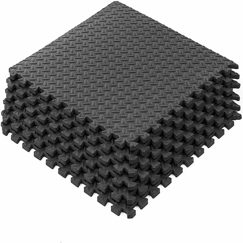 Floor Rubber Flooring Tiles Garage Home