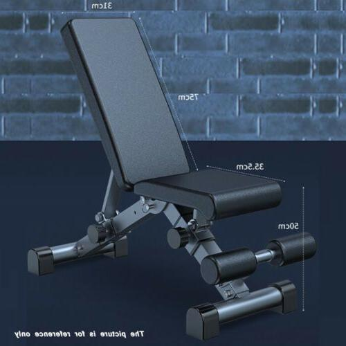 Foldable Bench Workout