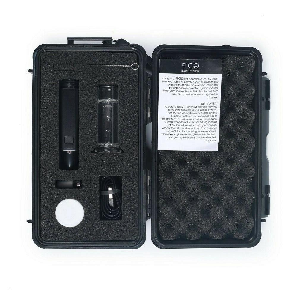 geenlightvapes kit ceramic tip glass bubbler li