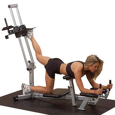 Glute Machine Lower Body Leg Workout- Powerline PGM200X Home