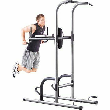 Gold`s Gym XR 10.9 Power Tower with Push-Up, Pull-Up & Dip S