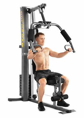 Gold's Gym Home Gym with and Low