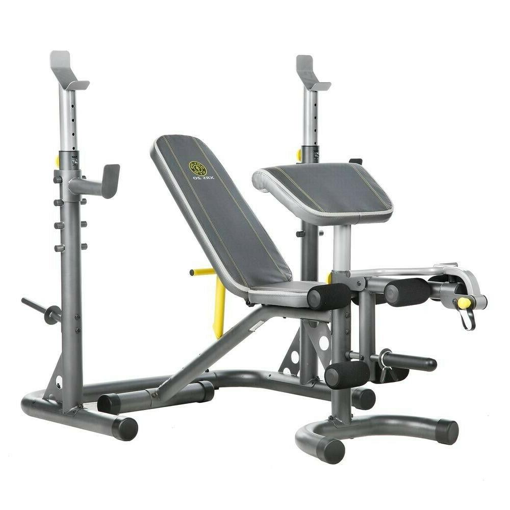 gold s gym xrs20 home gym olympic