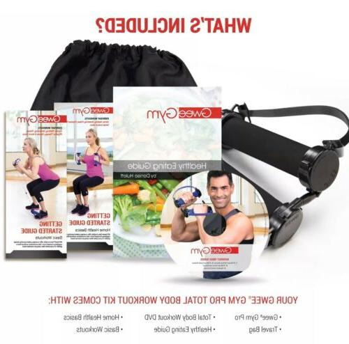 Gwee Pro Resistance Bands Exercise for + DVD