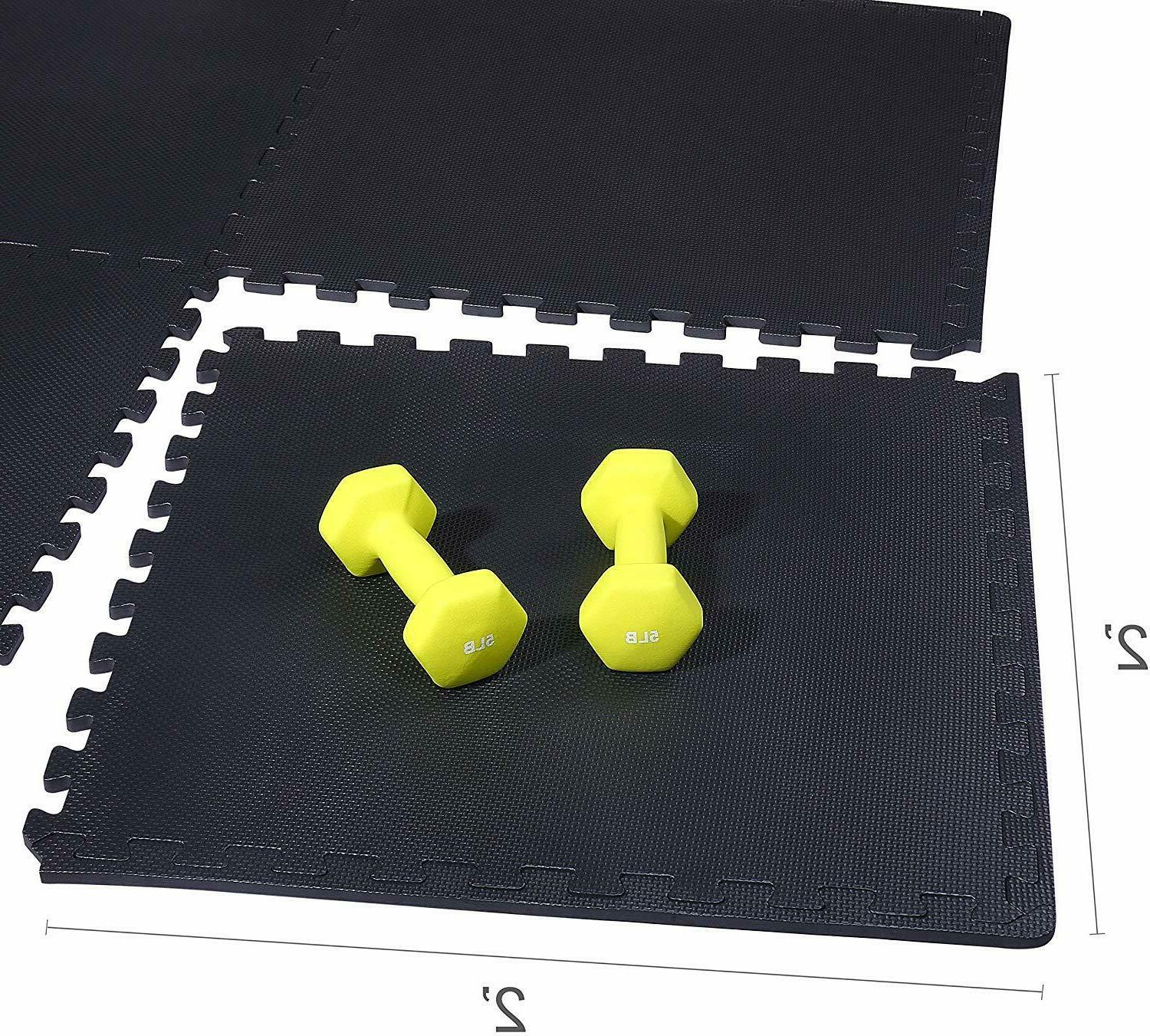 GYM Garage Home Fitness Exercise 24 Mat