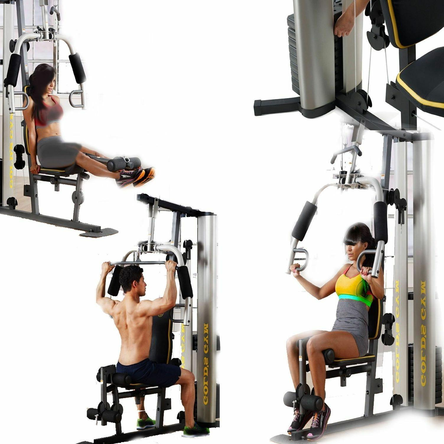 Gym System Strength Home Machine Equipment