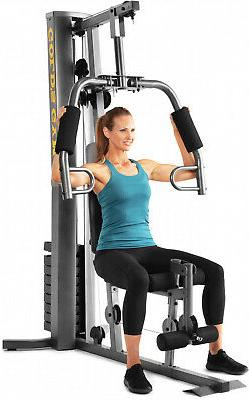 Golds Gym and Pulley Weight