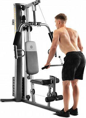 Golds and Low Pulley Weight System Exercise