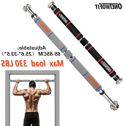 Heavy Duty Chin Pull Up Bar Exercise Fitness Gym Home Mounte