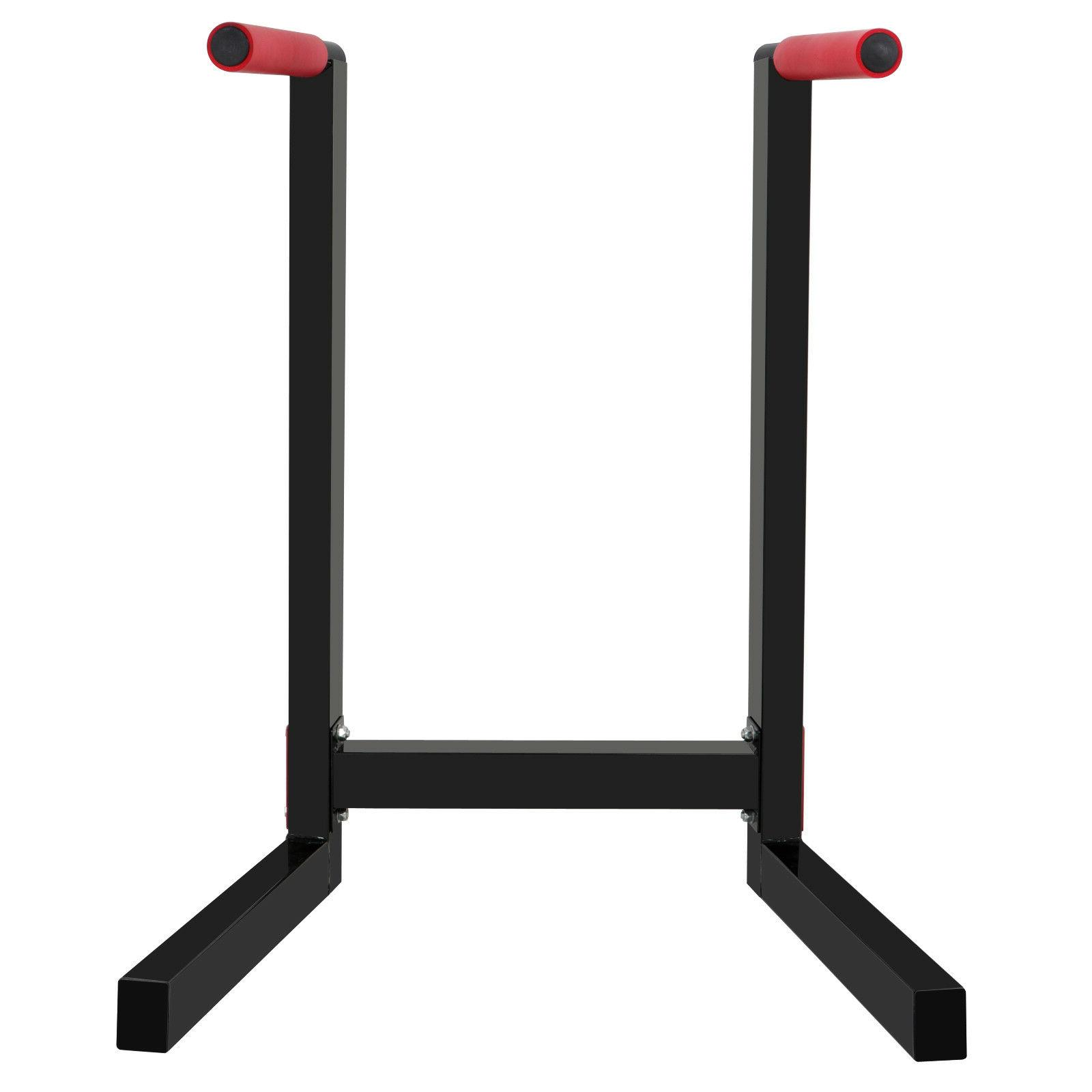 Heavy Steel Stand Parallel Fitness Home Gym Dipping 440LBs