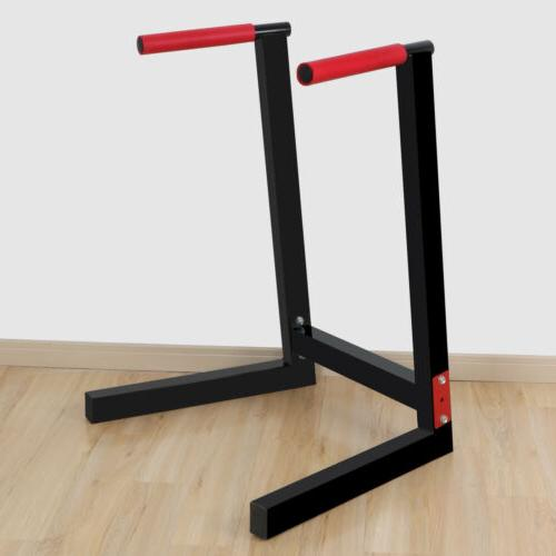 Heavy Stand Bar Fitness Home Dipping 440LBs