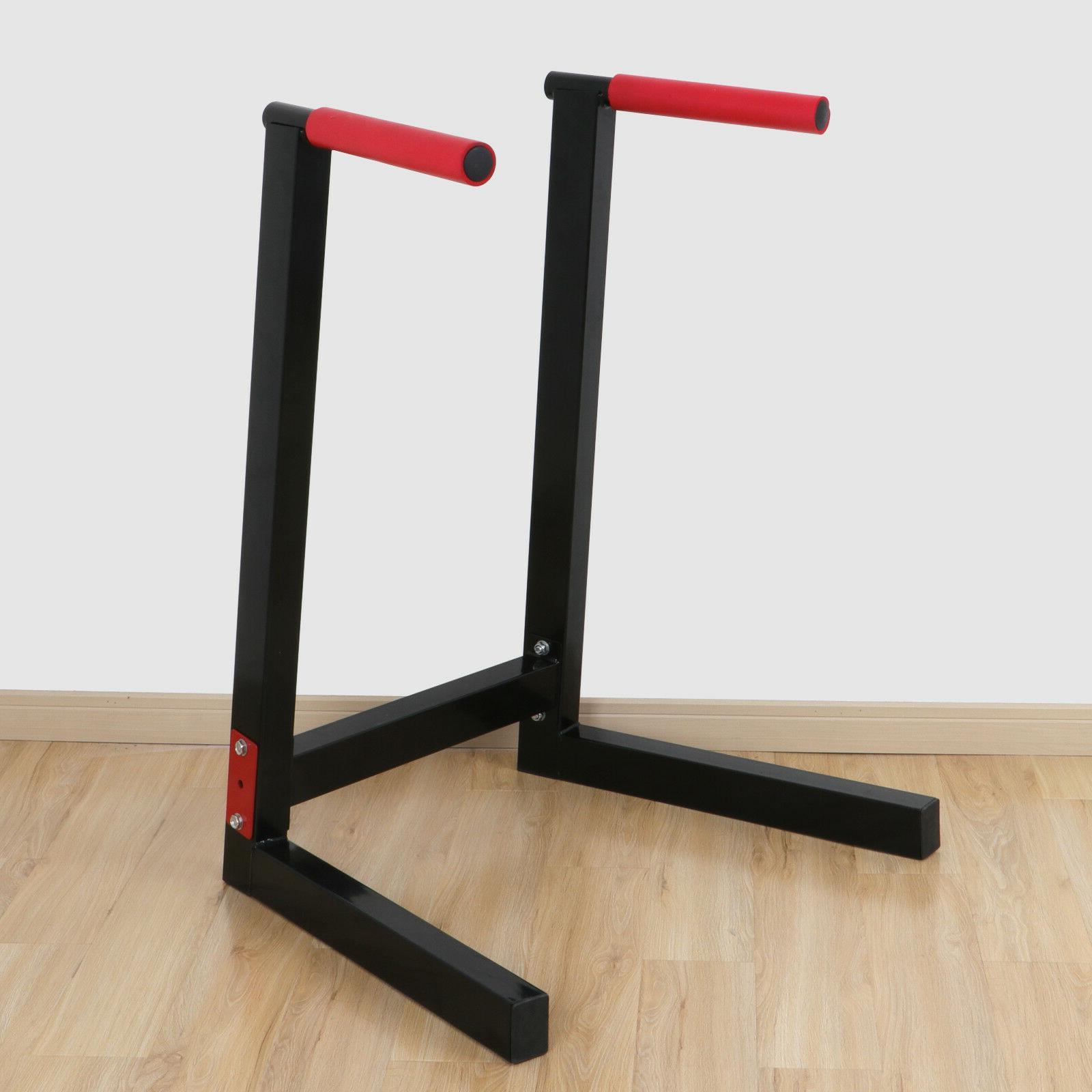 heavy duty steel dip stand parallel bar