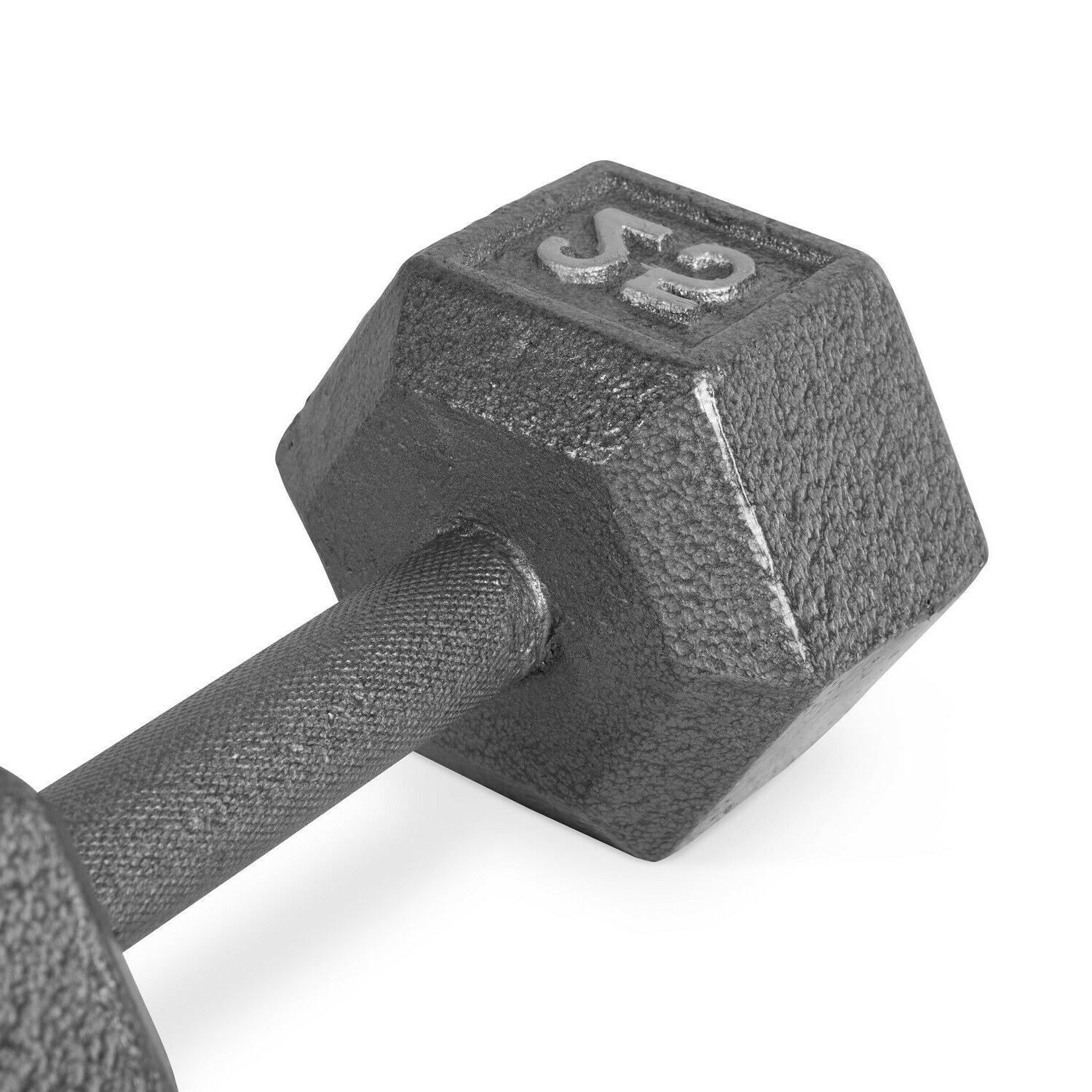Hex Dumbbells Rubber Home Weight Single Dumbbell