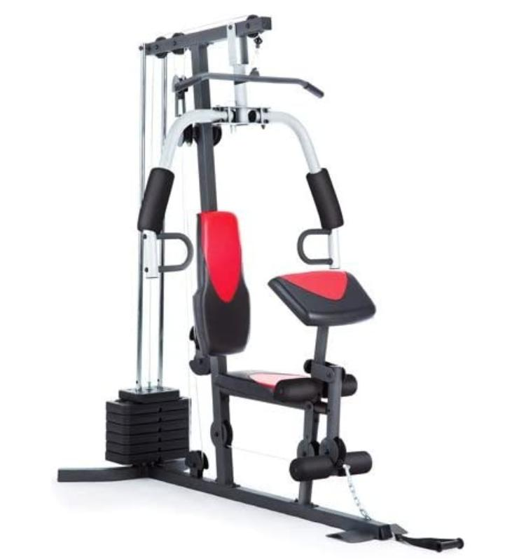 home gym 214 lb stack 300 lbs