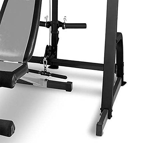 Marcy Home Gym Fitness Deluxe Cage System with Weight Lifting