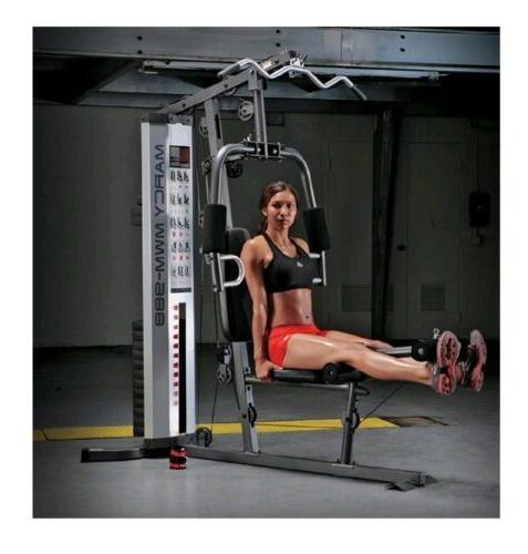 Home Gym Equipment Machine System Work Training.