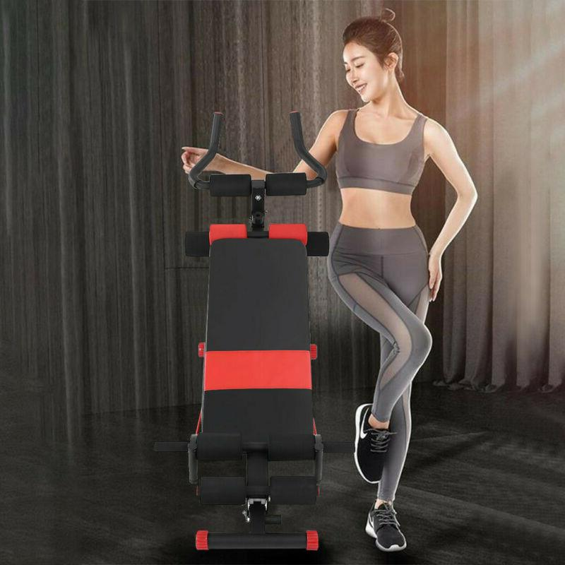 Adjustable Up Incline Abs Bench Fly Weight Press Gym W/ Fitness