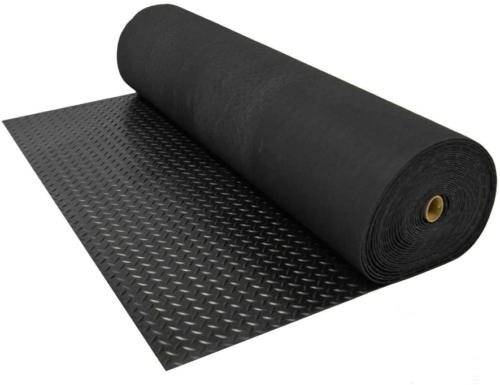 Home Gym Diamond Rubber Kennel Covering Truck Bed Flooring