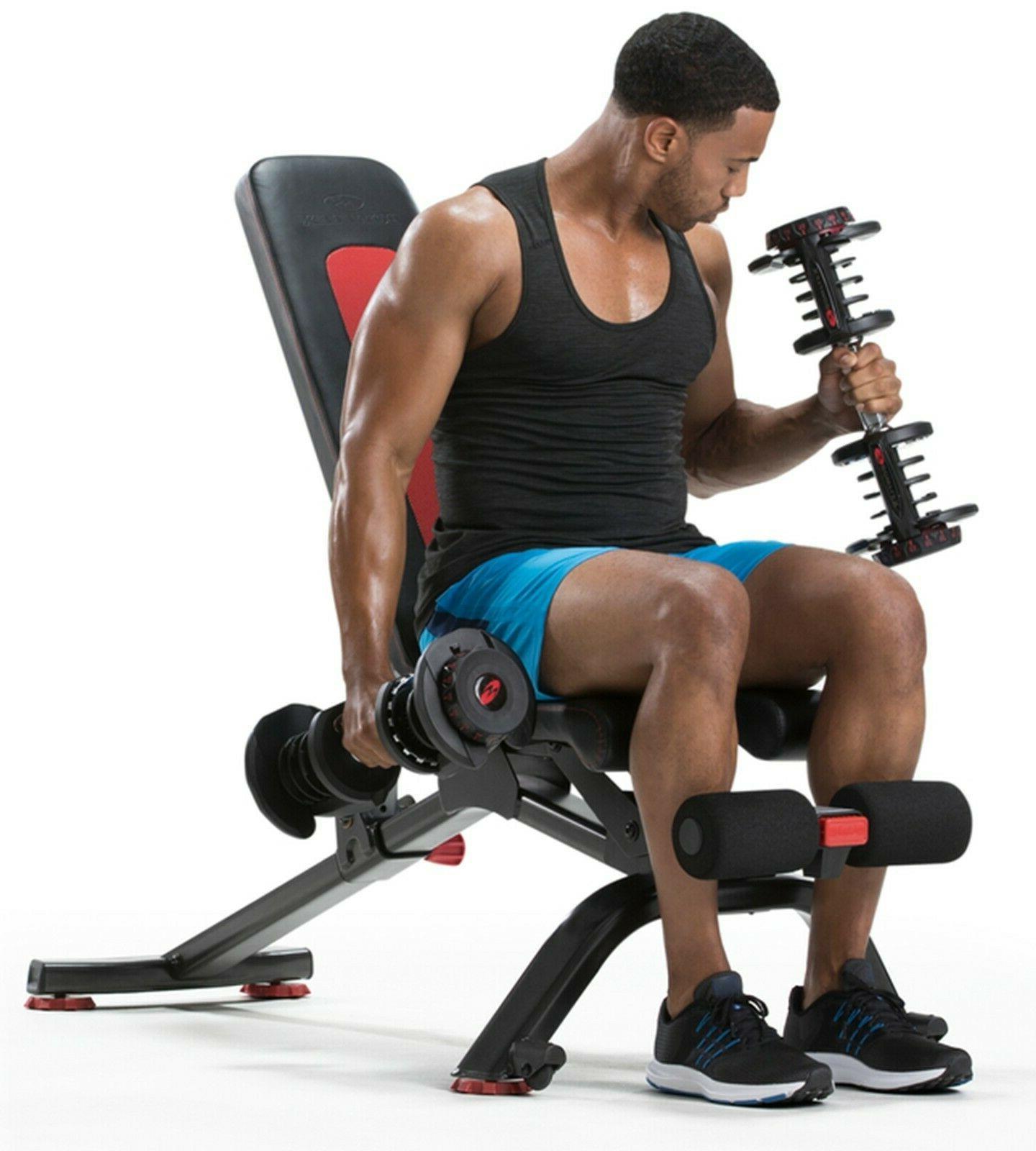 Bowflex Home Gym - Dummbbell Set + 5.1S Bench