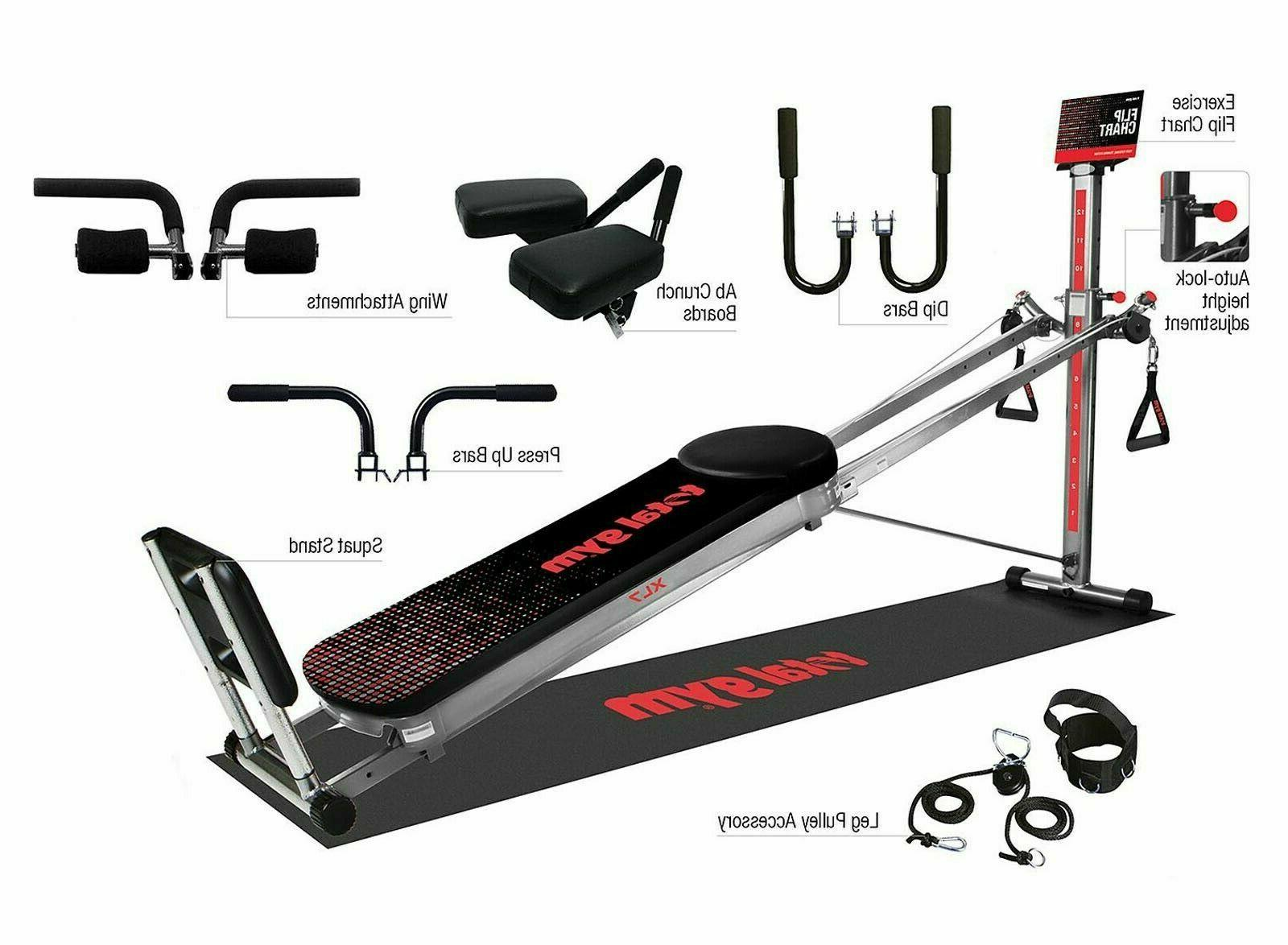 Total Home Exercise Fitness Machine Ab Trainer