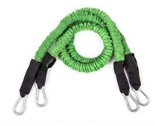home gym resistance bands green