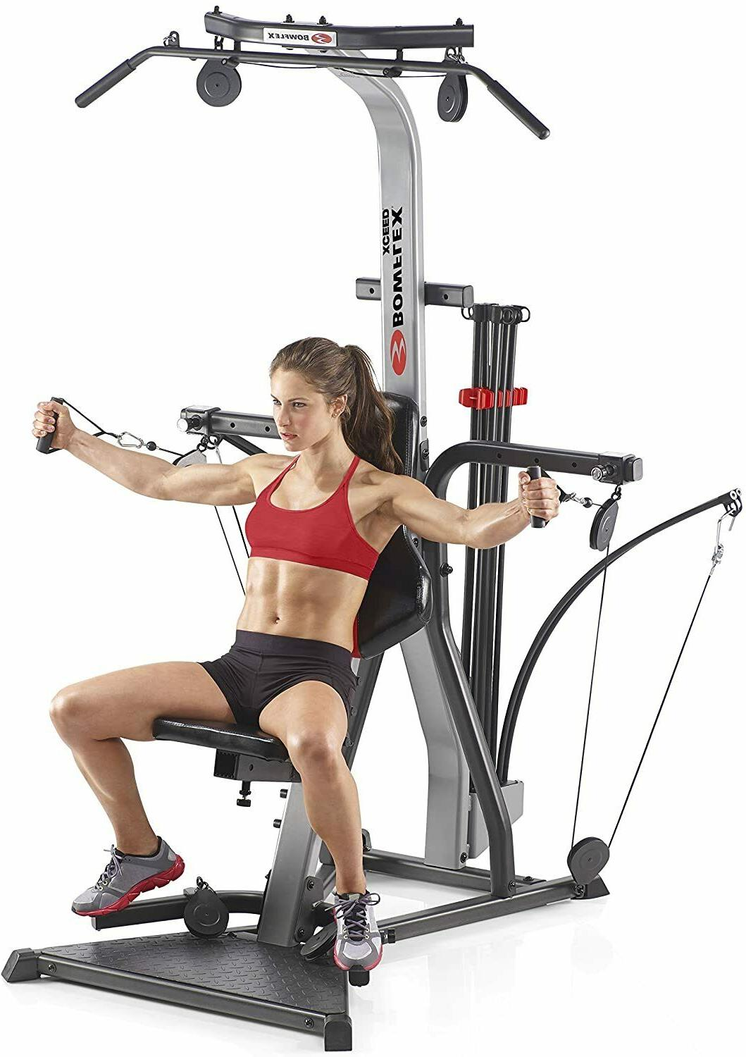 Bowflex Xceed Home Gym- Over 65 Exercises- 210 lbs Resistanc
