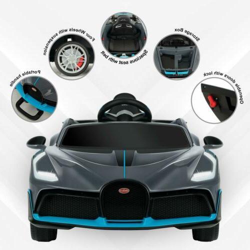 Bugatti Divo On Car RC Gray