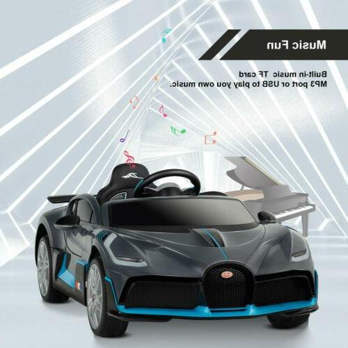 Bugatti Kids On Car Electric Vehicles with