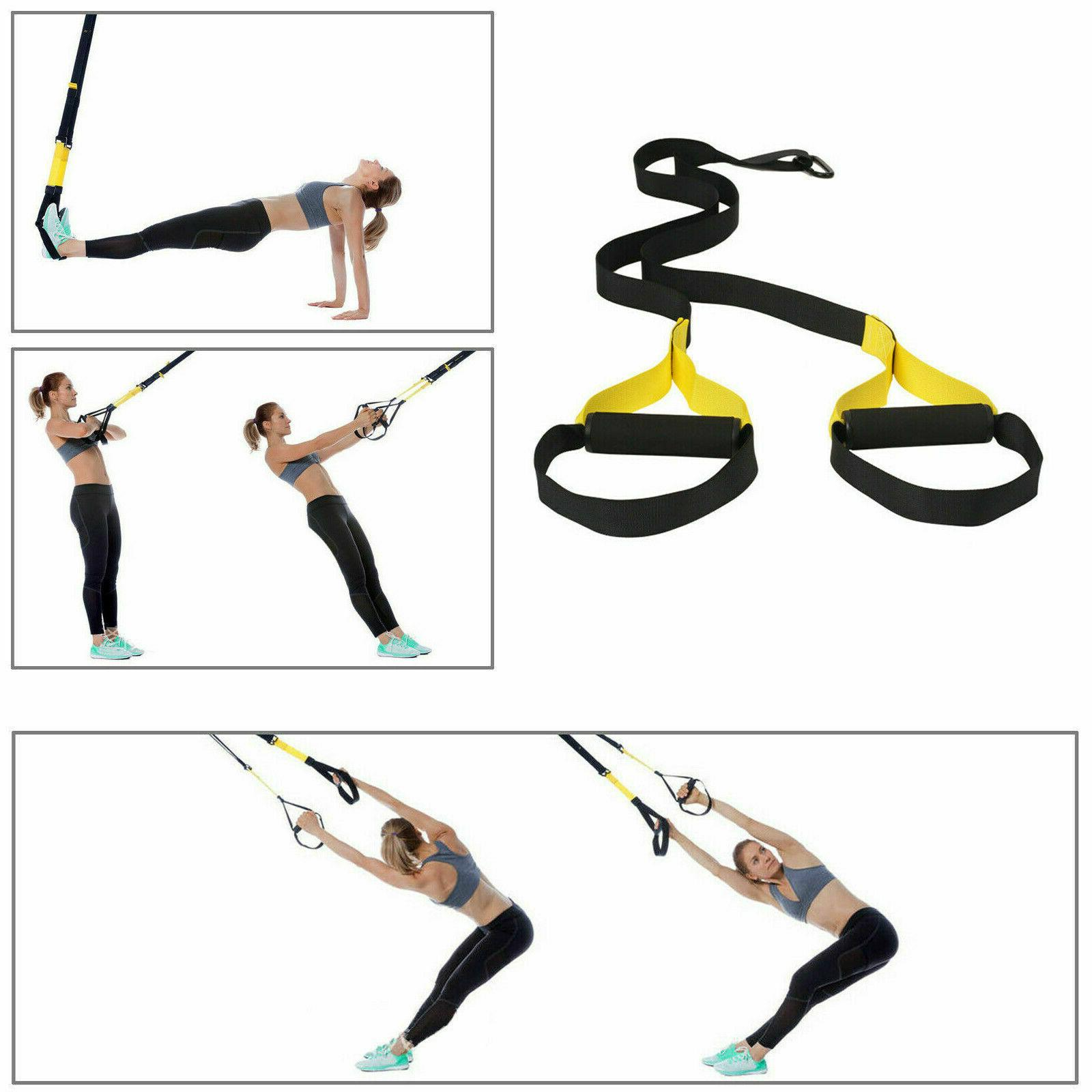 Home Gym Suspension Resistance Strength Fitness Workout