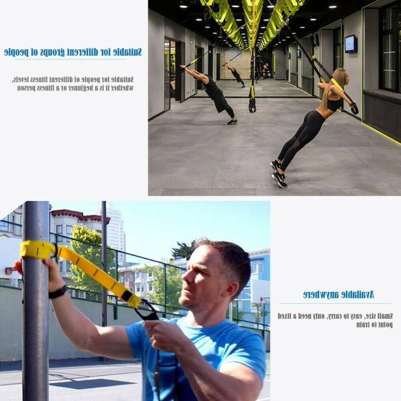 Home Gym Suspension Resistance Trainer