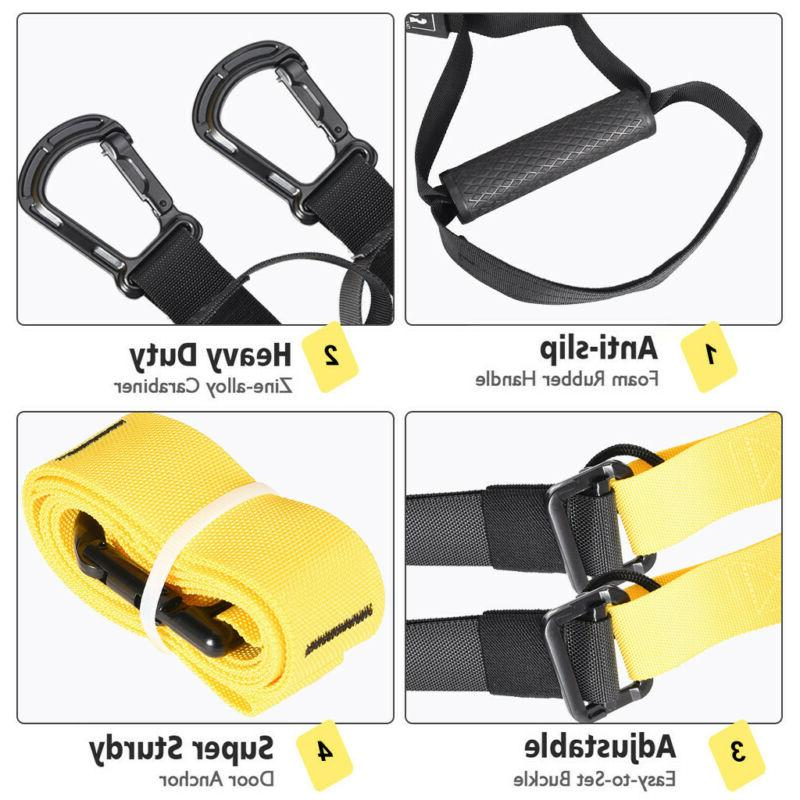 Home Gym Resistance Strength Strap Trainer