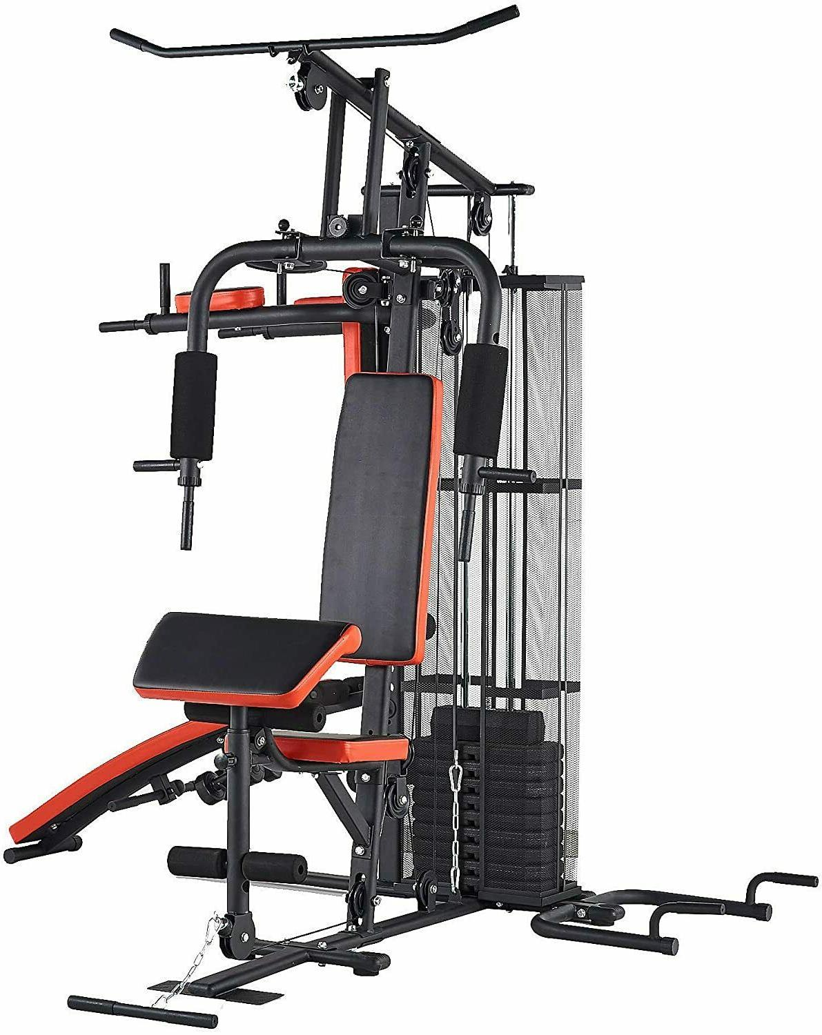 BalanceFrom Gym System Equipment Multiple Purpose Station