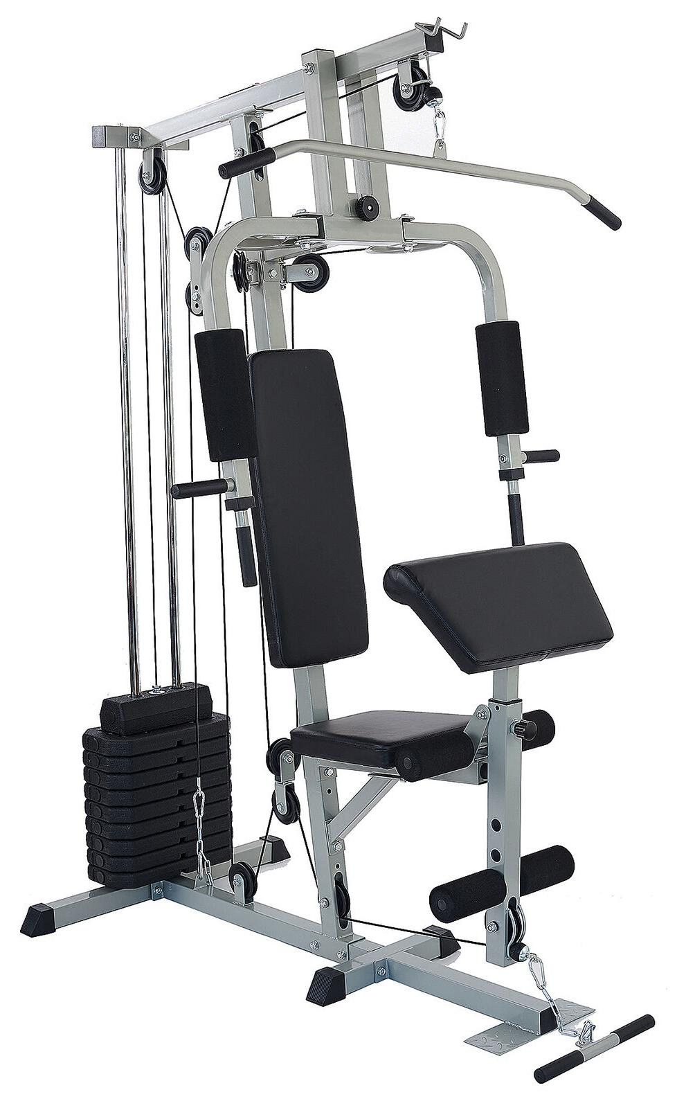 home gym system workout station heavy duty