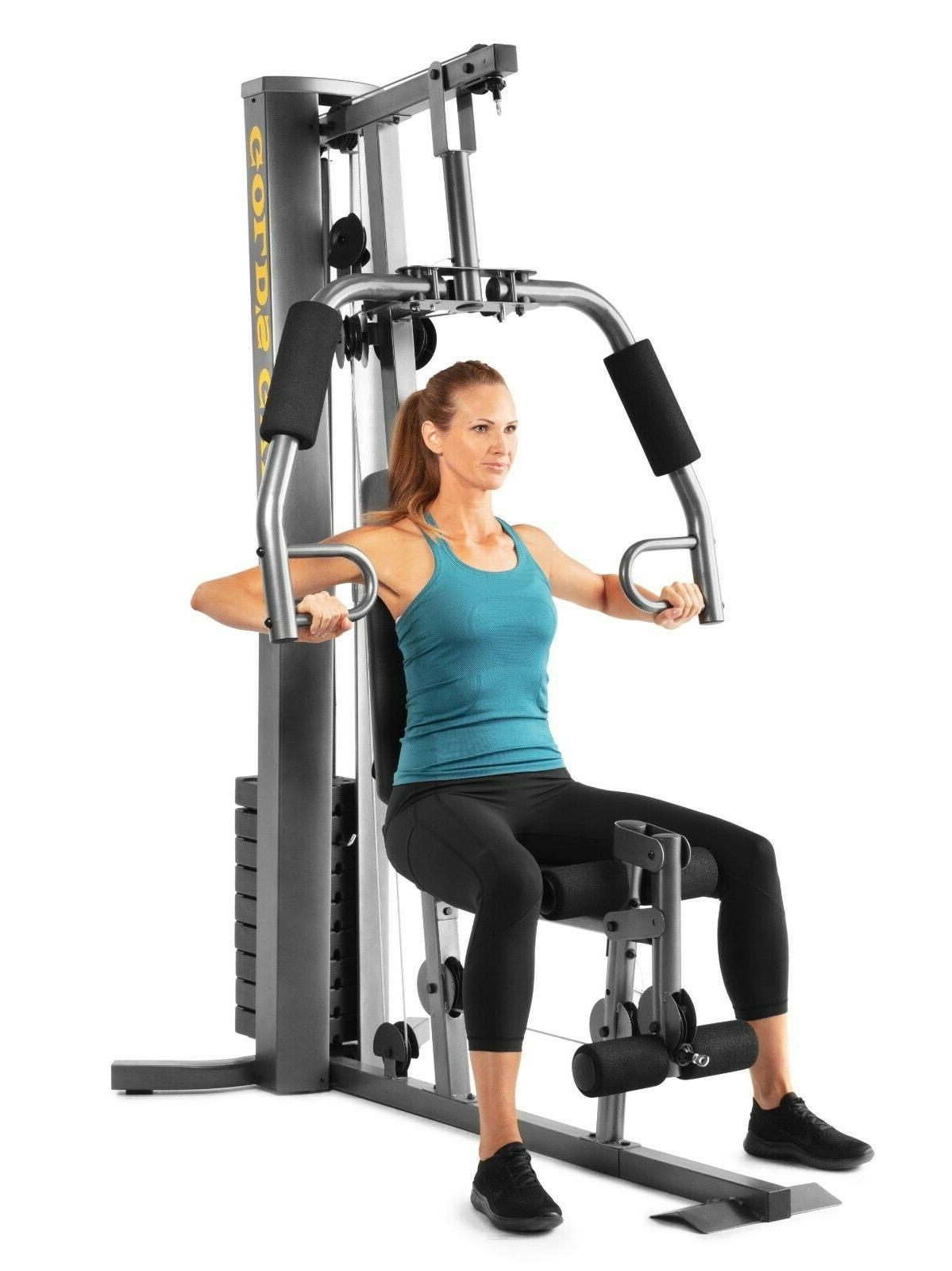 Total Body Workout Machine Home Strength Weight Lift