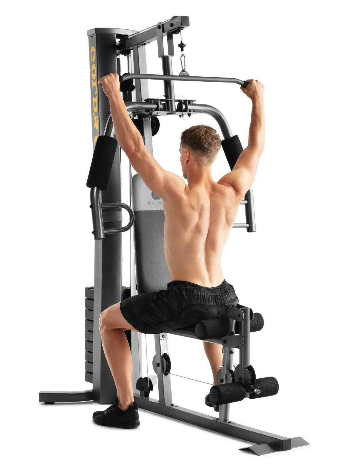 Total Home Strength Training Exercise Weight Lift Equipment