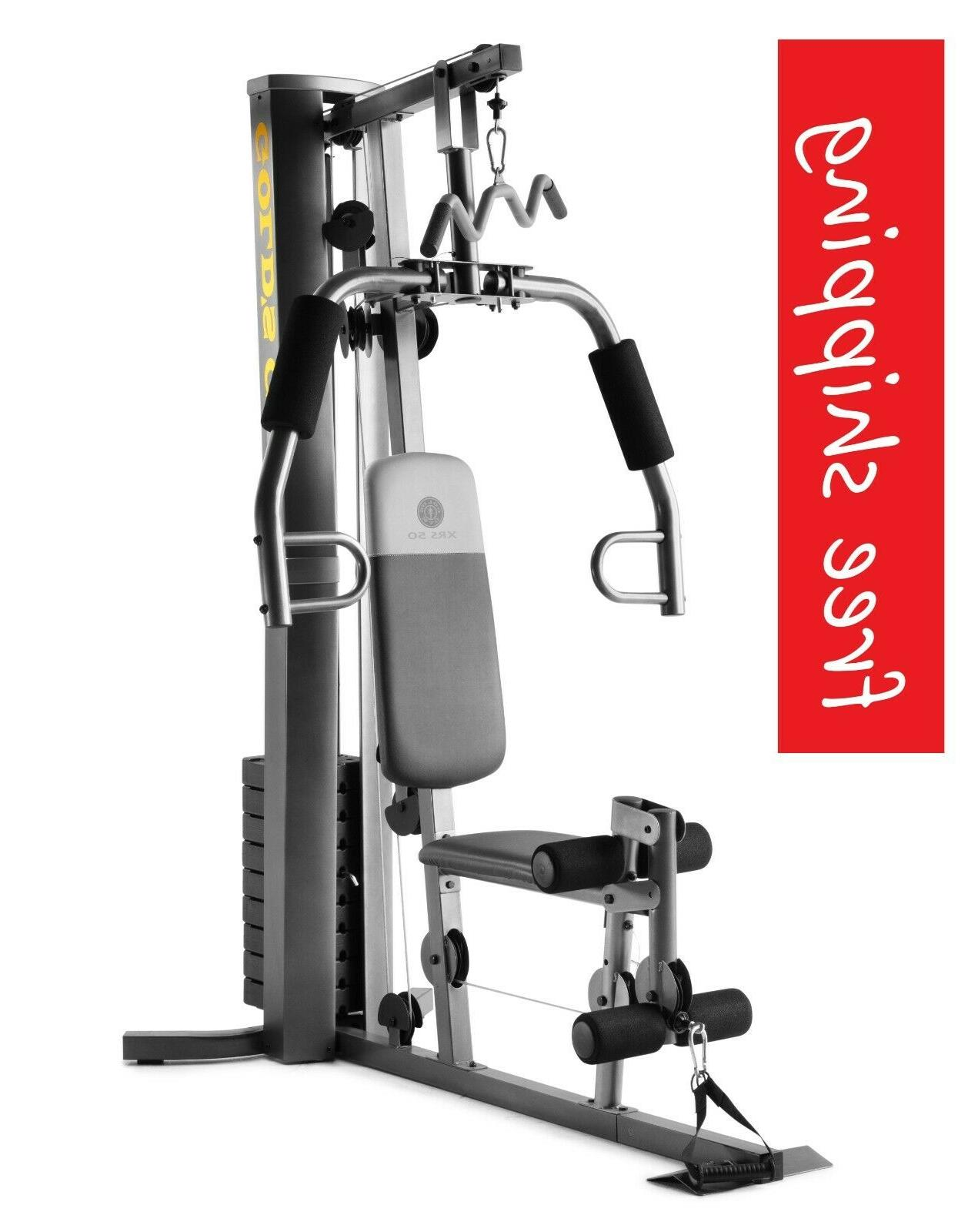home gym weight workout machine strength training