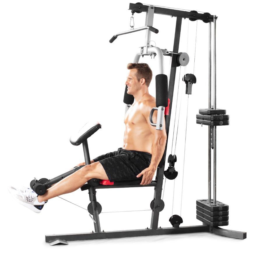 Home System 214 lb. Resistance Exercise Lifting
